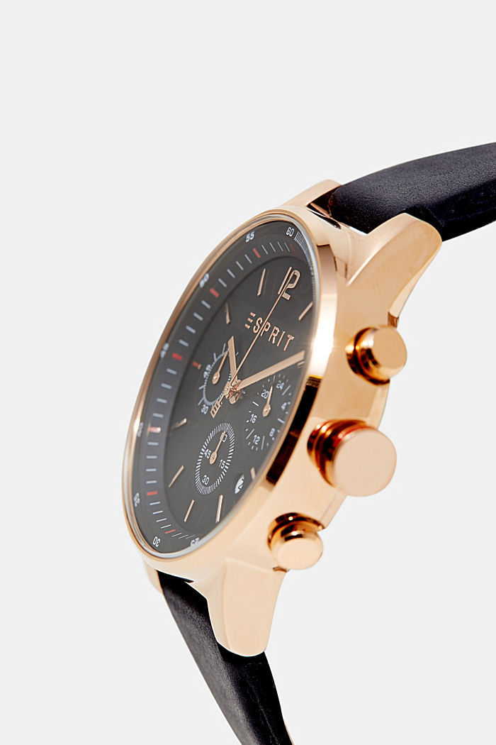 Chronograph in modern rose gold, ROSEGOLD, detail image number 1