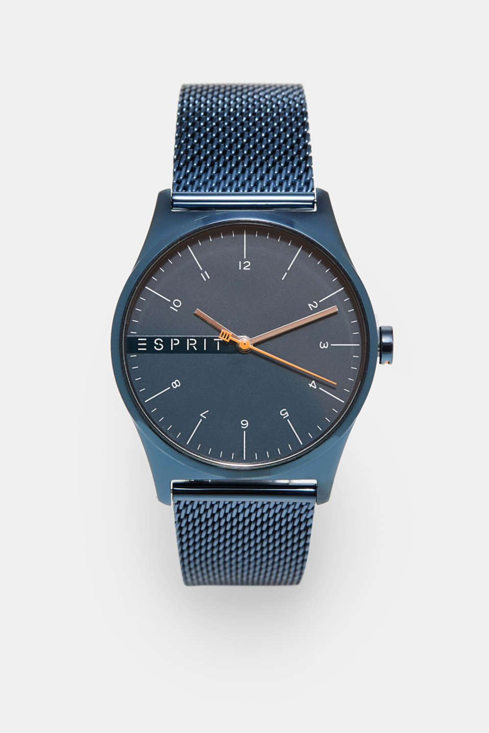 Esprit - Stainless steel with blue platinisation