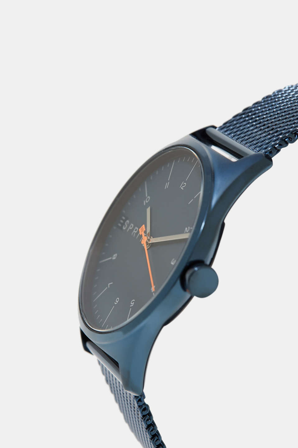 Stainless steel with blue platinisation, BLUE, detail image number 1