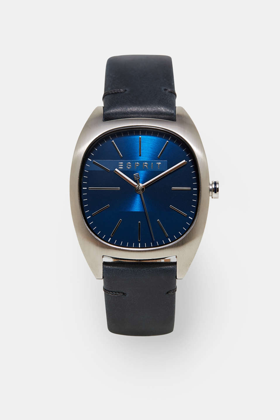 Esprit - Mens watch with a leather strap