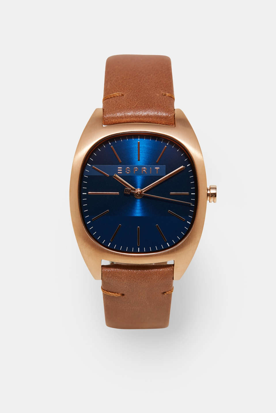 Esprit - Classic watch for men with leather strap