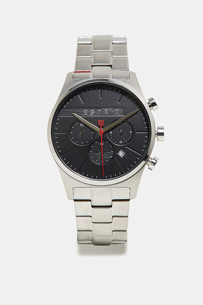 Chronograph aus Edelstahl