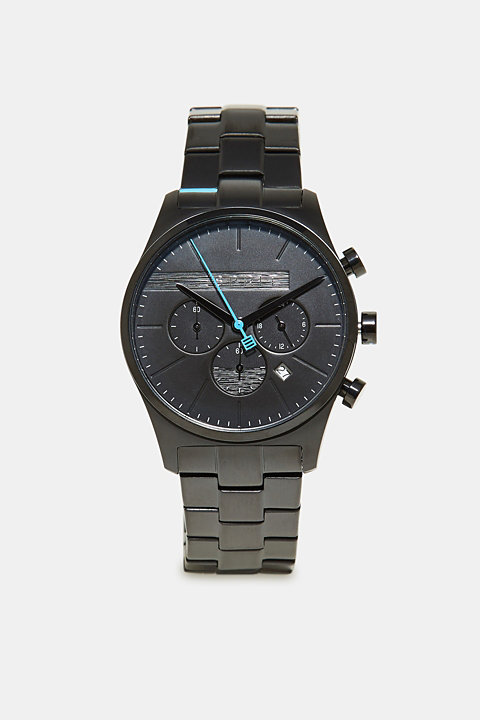 Sporty men's chronograph watch