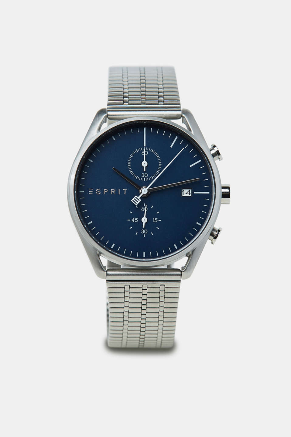 Esprit - Stainless steel chronograph with a link bracelet