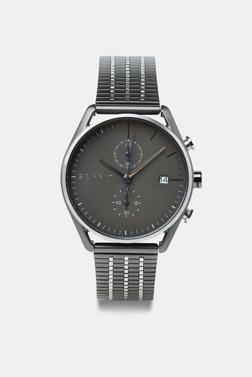 Esprit - Stainless-steel watch with black plating