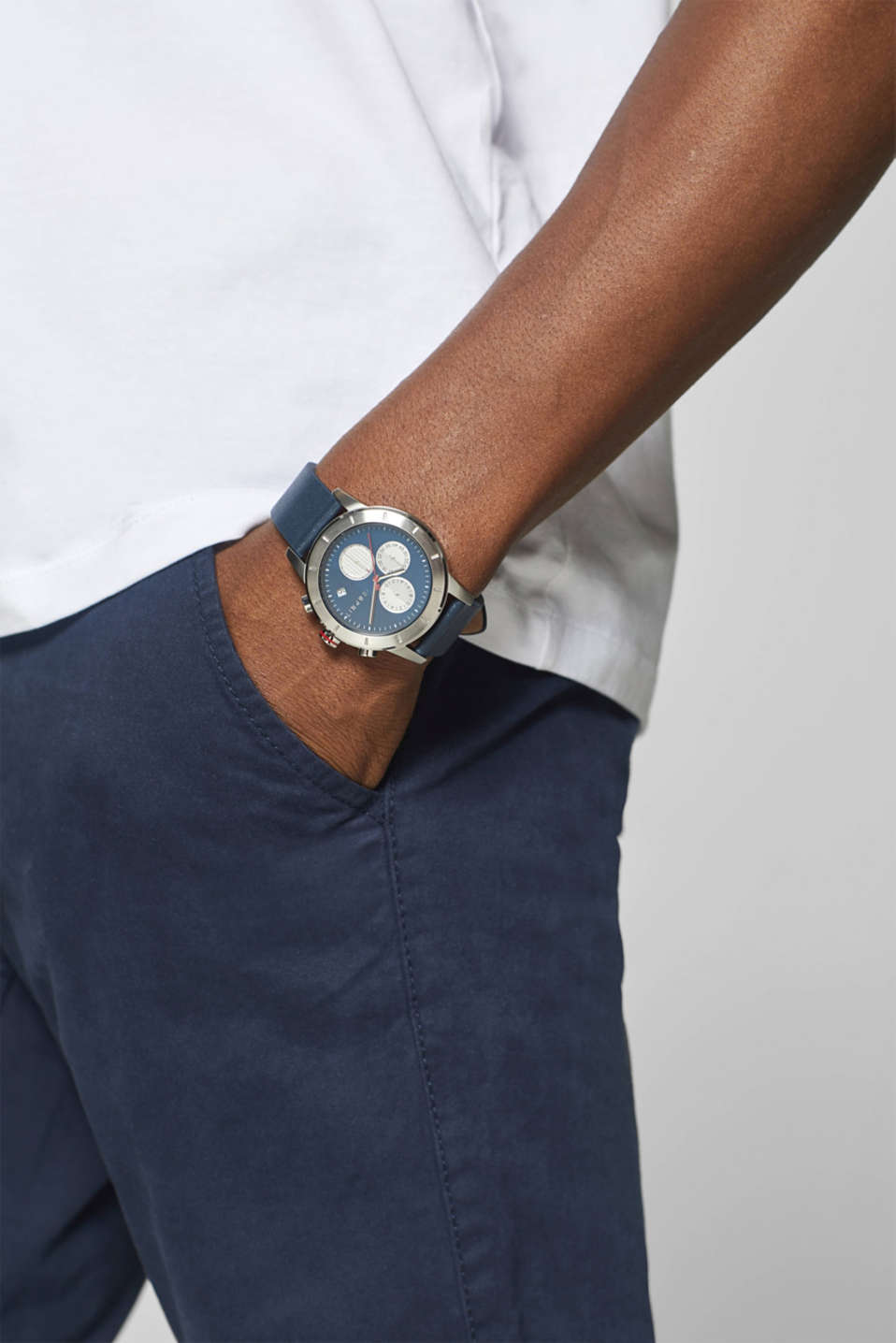 Timewear Leather, BLUE, detail image number 2