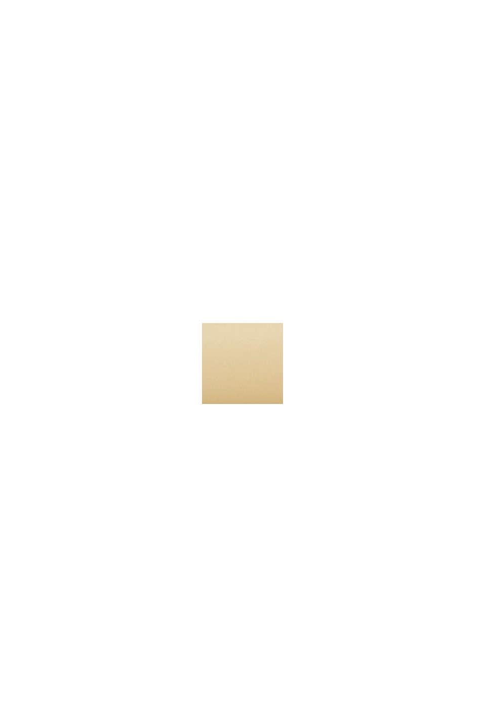 Edelstahl-Chronograph mit Gelbgold-Plattierung, GOLD, swatch