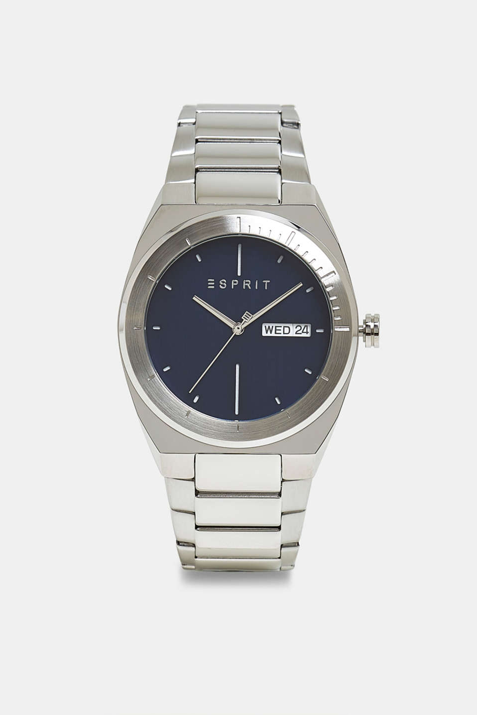 Esprit - Stainless-steel watch with link bracelet