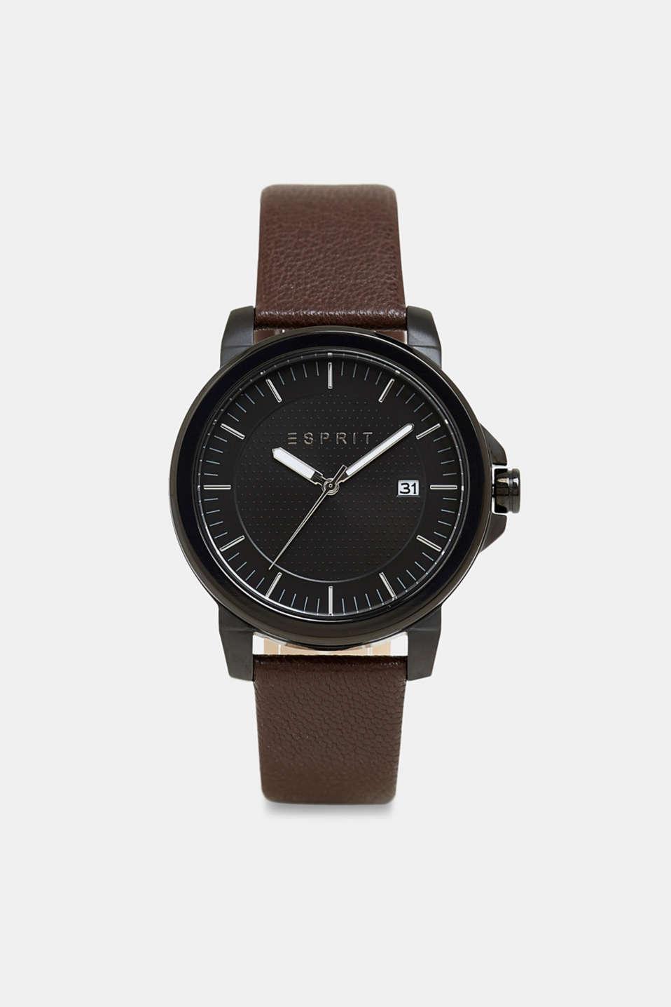 montre esprit bracelet cuir