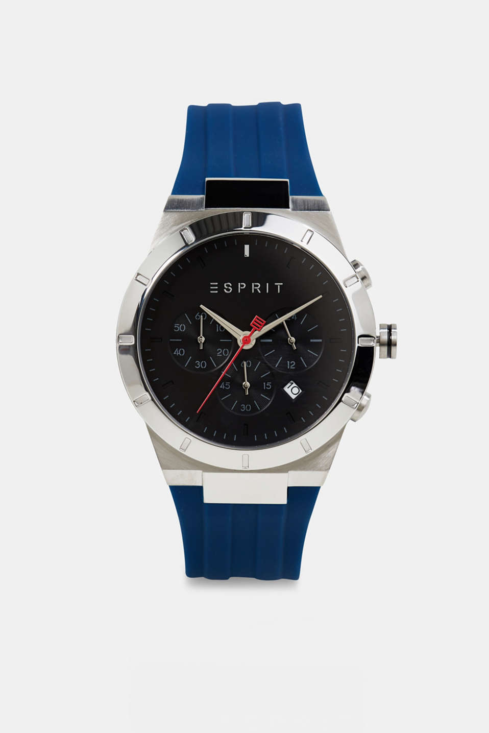 Esprit - Chronograph with a silicone strap