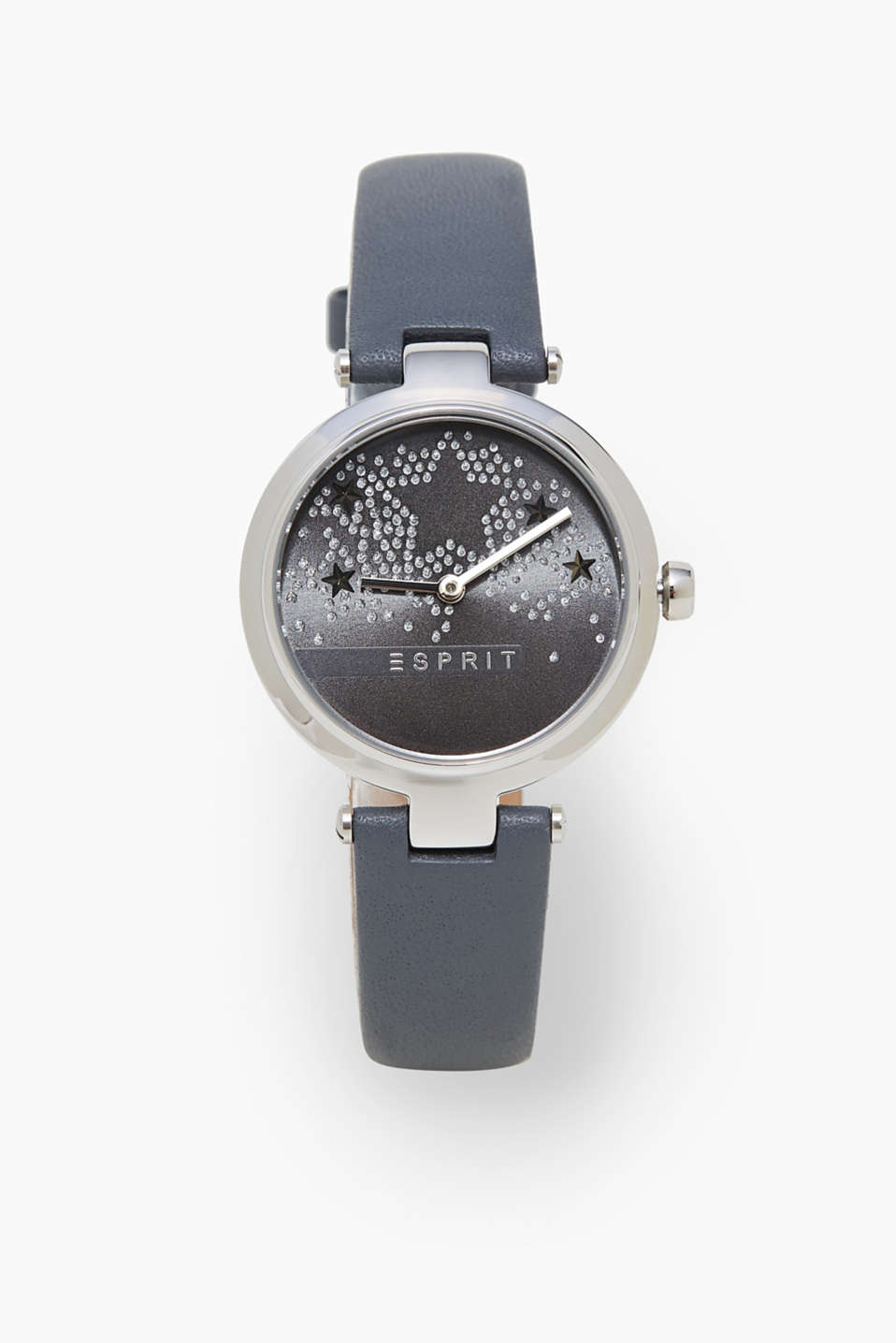 Esprit - Stainless steel watch with embellished dial