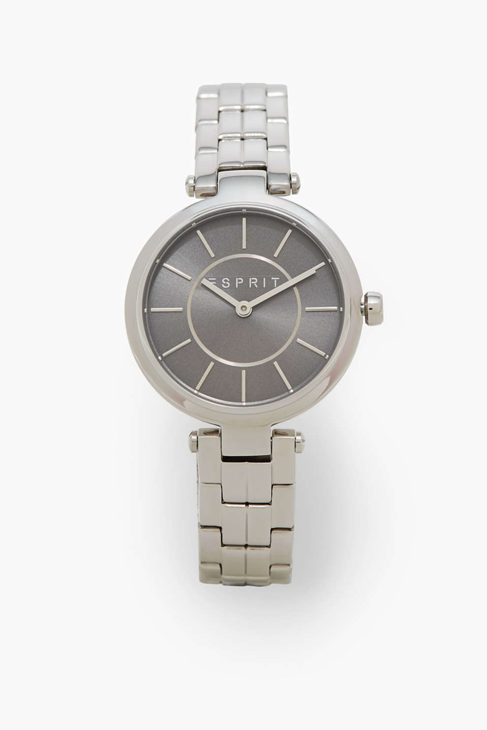 Esprit - Timeless watch with a link strap