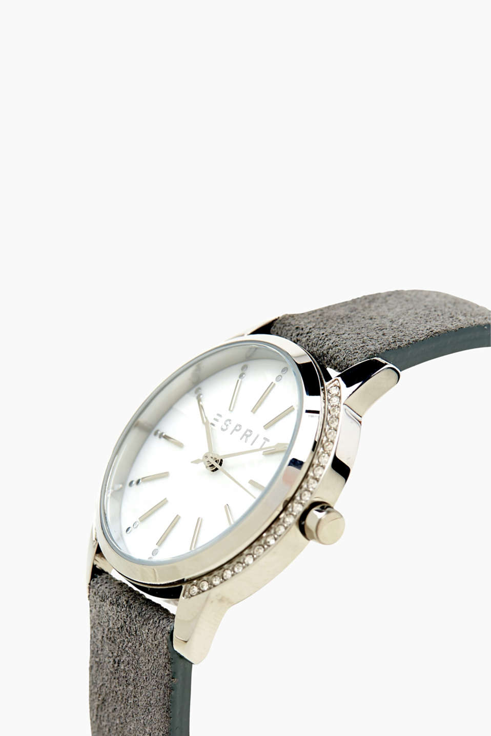 Watch with zirconia