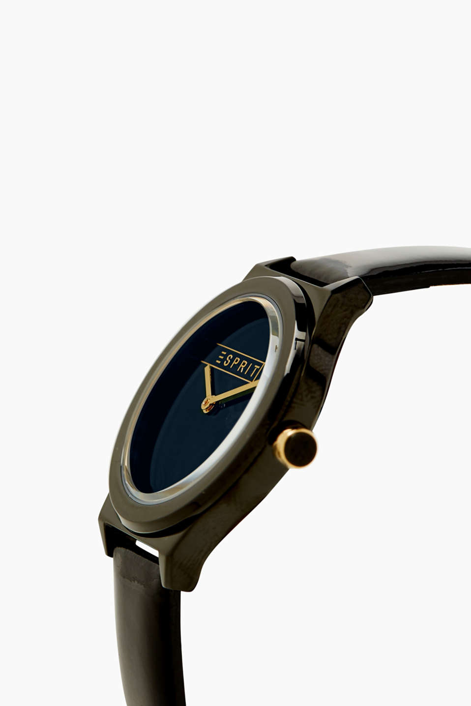 Watch with a patent strap
