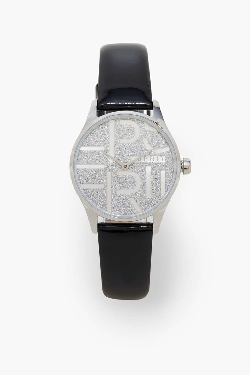 Esprit - Stainless steel watch with glittering dial