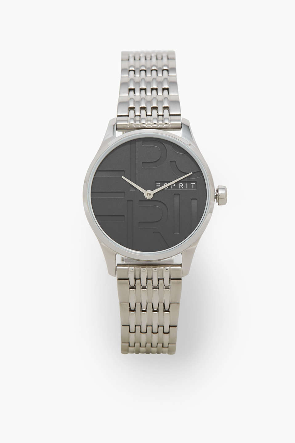 Esprit - Stainless steel watch with a logo dial