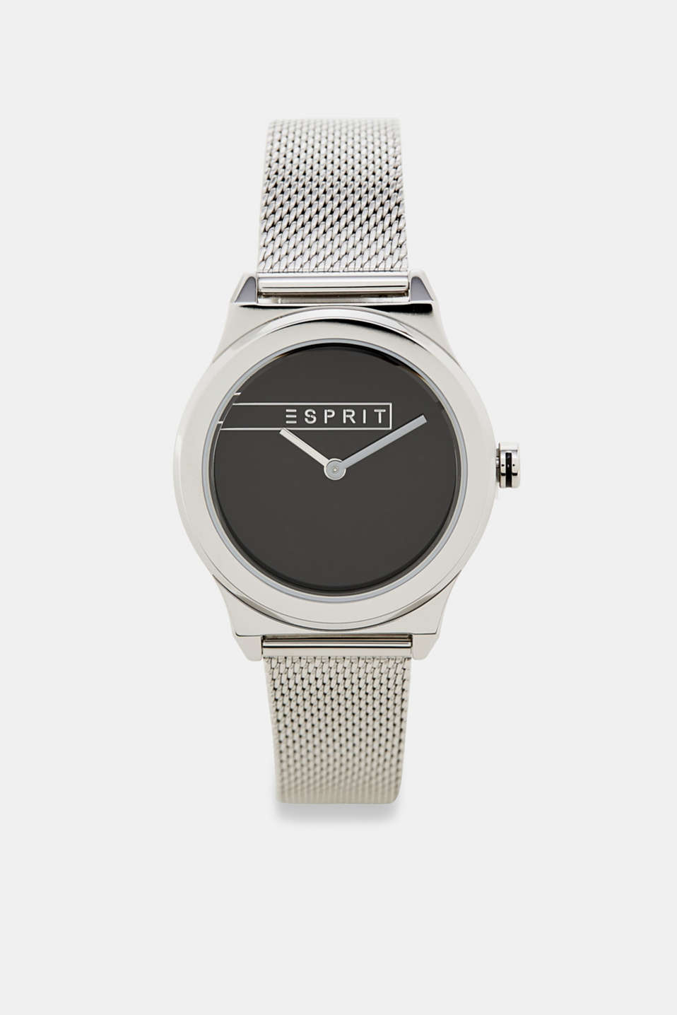 Esprit - Stainless steel watch with a mirrored dial