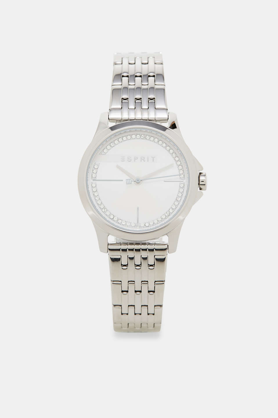Esprit - Watch with a dial set with zirconia