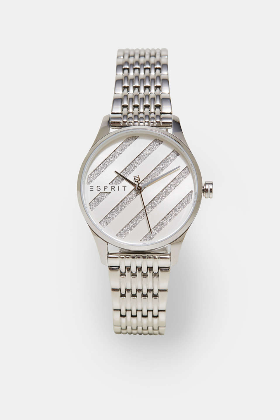 Esprit - Watch with a glittering dial