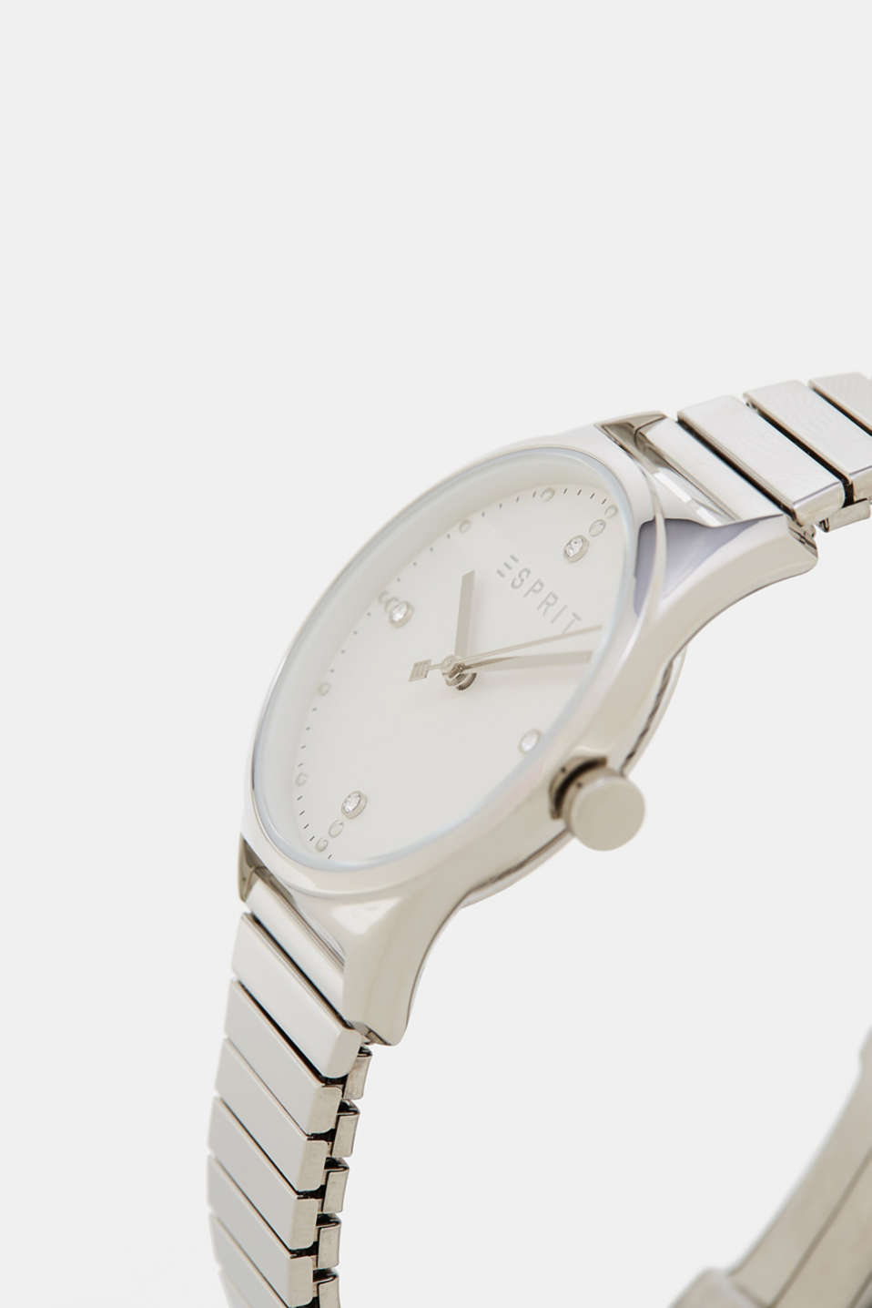 Watch + polished link strap