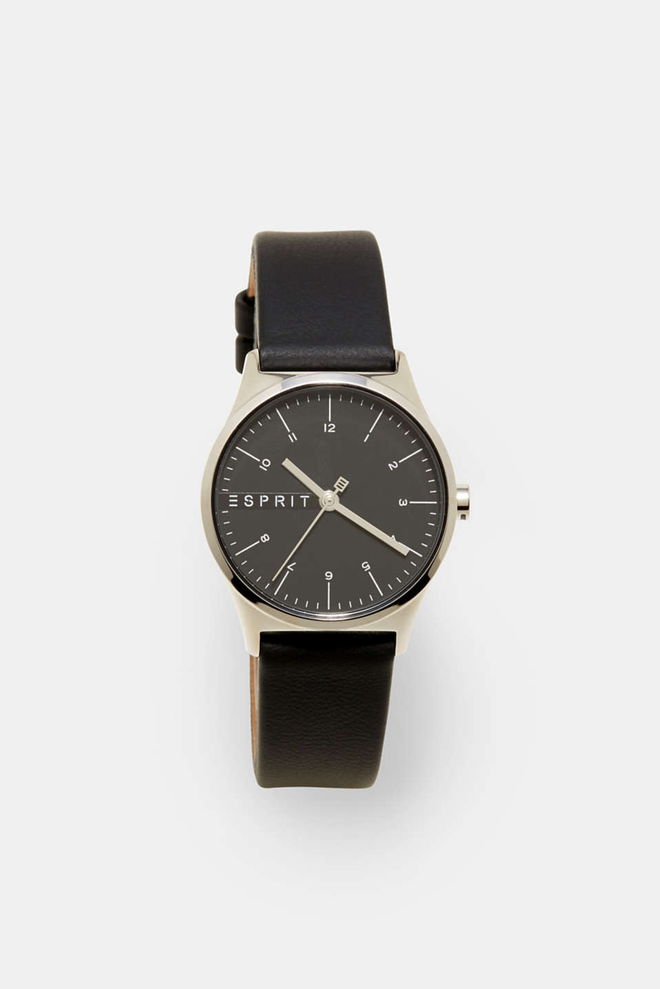 Esprit - Classic watch with leather strap