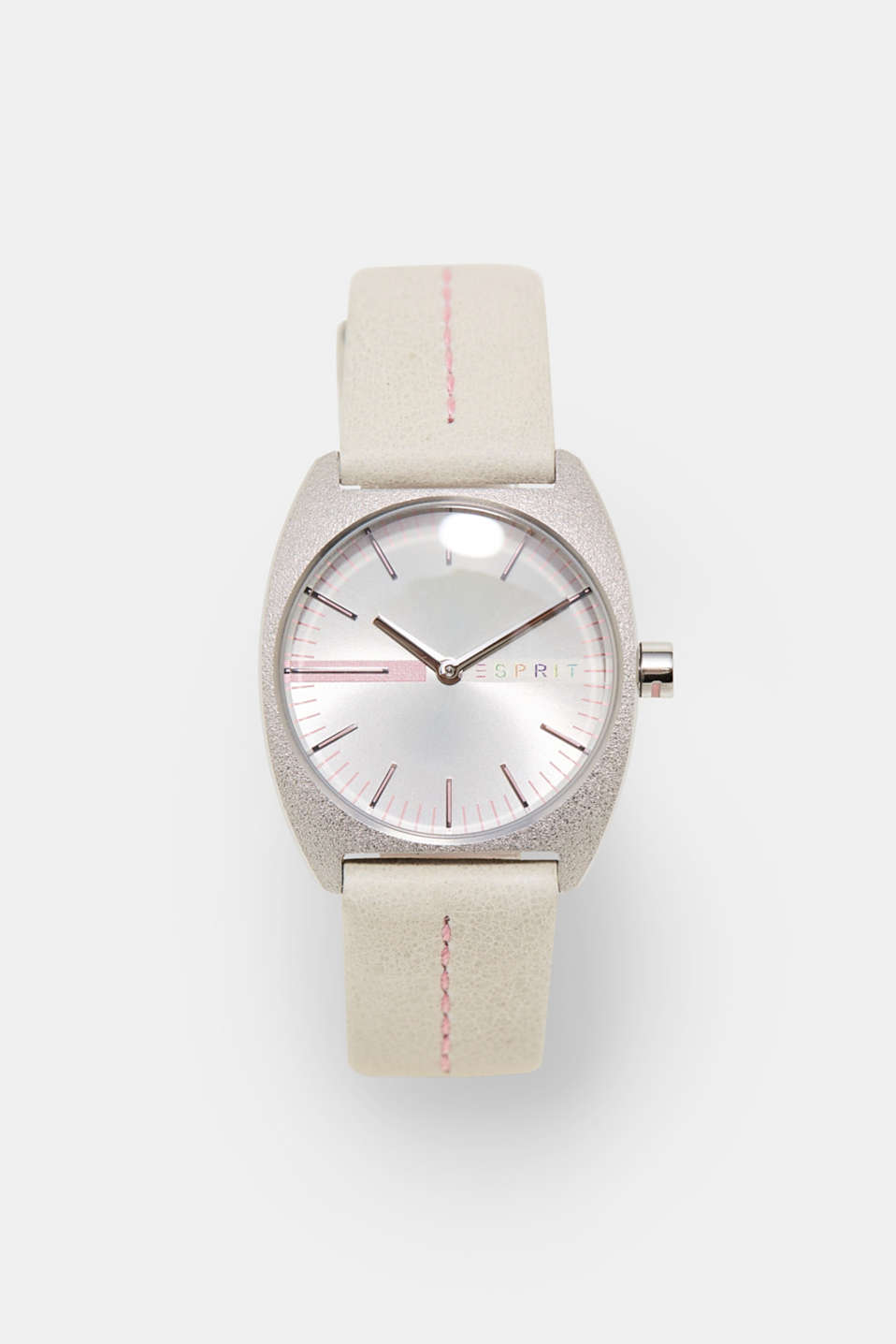 Esprit - Watch with a leather strap