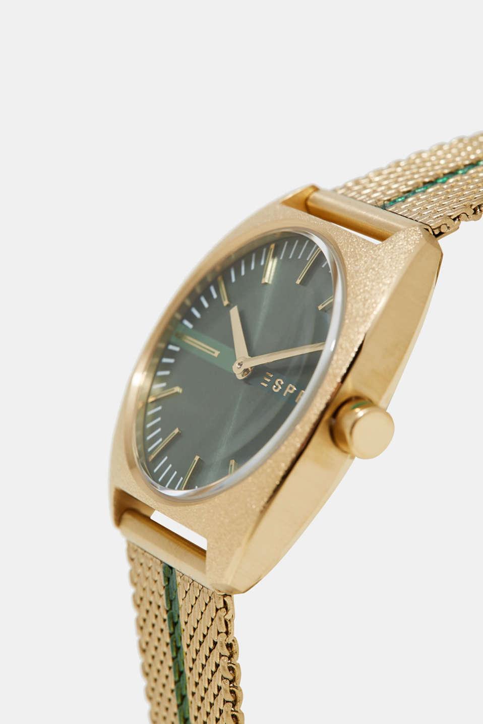 esprit montre bracelet milanais en acier inox acheter sur la boutique en ligne. Black Bedroom Furniture Sets. Home Design Ideas