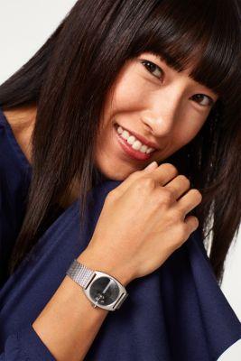 fc347beade91c Esprit : Montre digitale à bracelet milanais, inox à acheter sur la ...