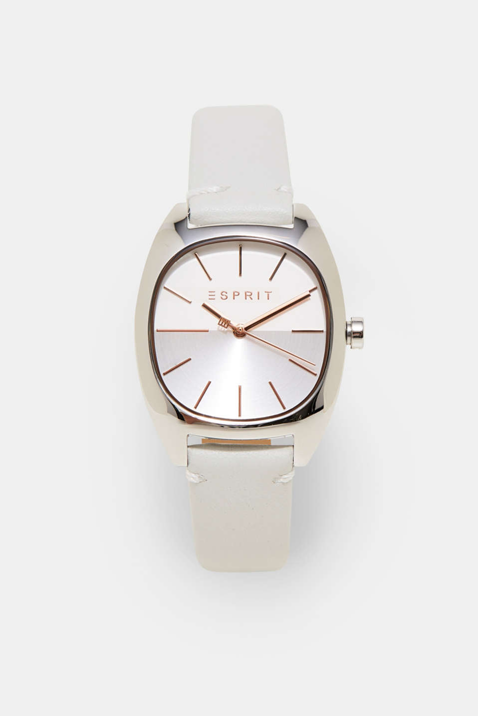 Esprit - Feminine watch with a leather strap