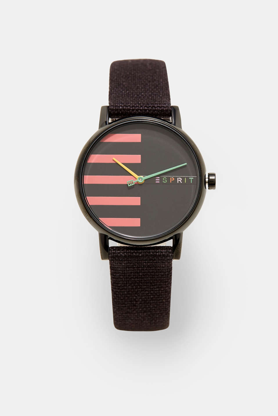 Esprit - Watch with a canvas strap