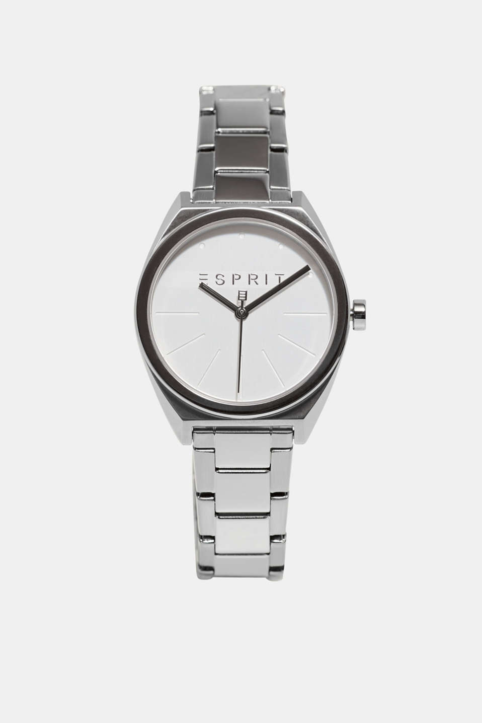 Esprit - Stainless-steel watch with a link bracelet