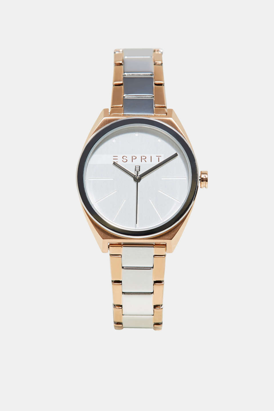 Esprit - Bi-colour stainless-steel watch