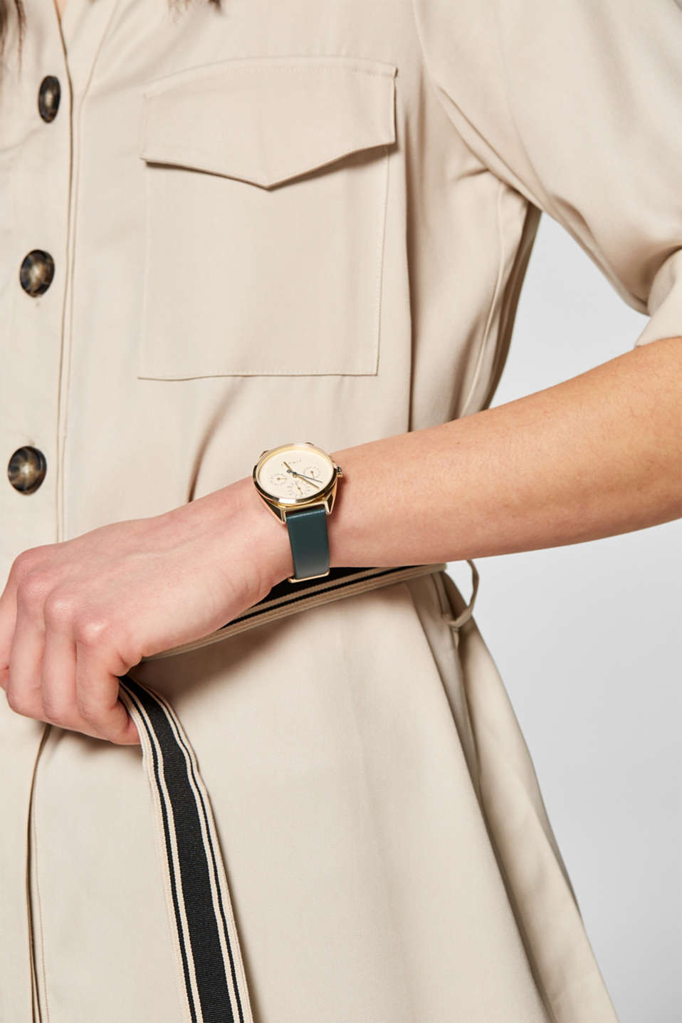 Timewear Leather, GREEN, detail image number 2