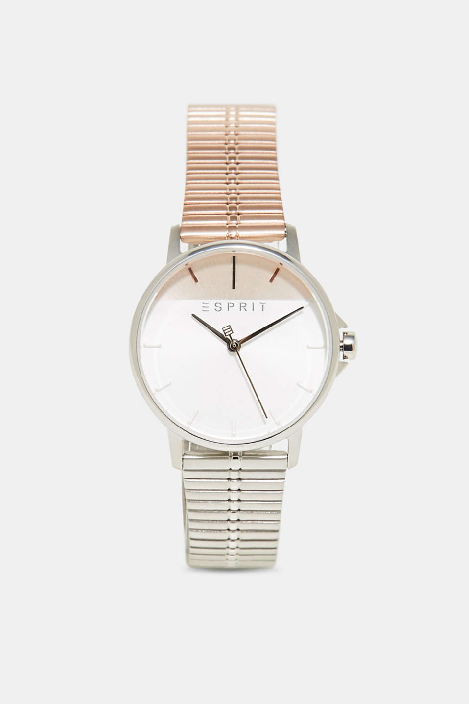 Esprit - Stainless-steel watch with rose gold