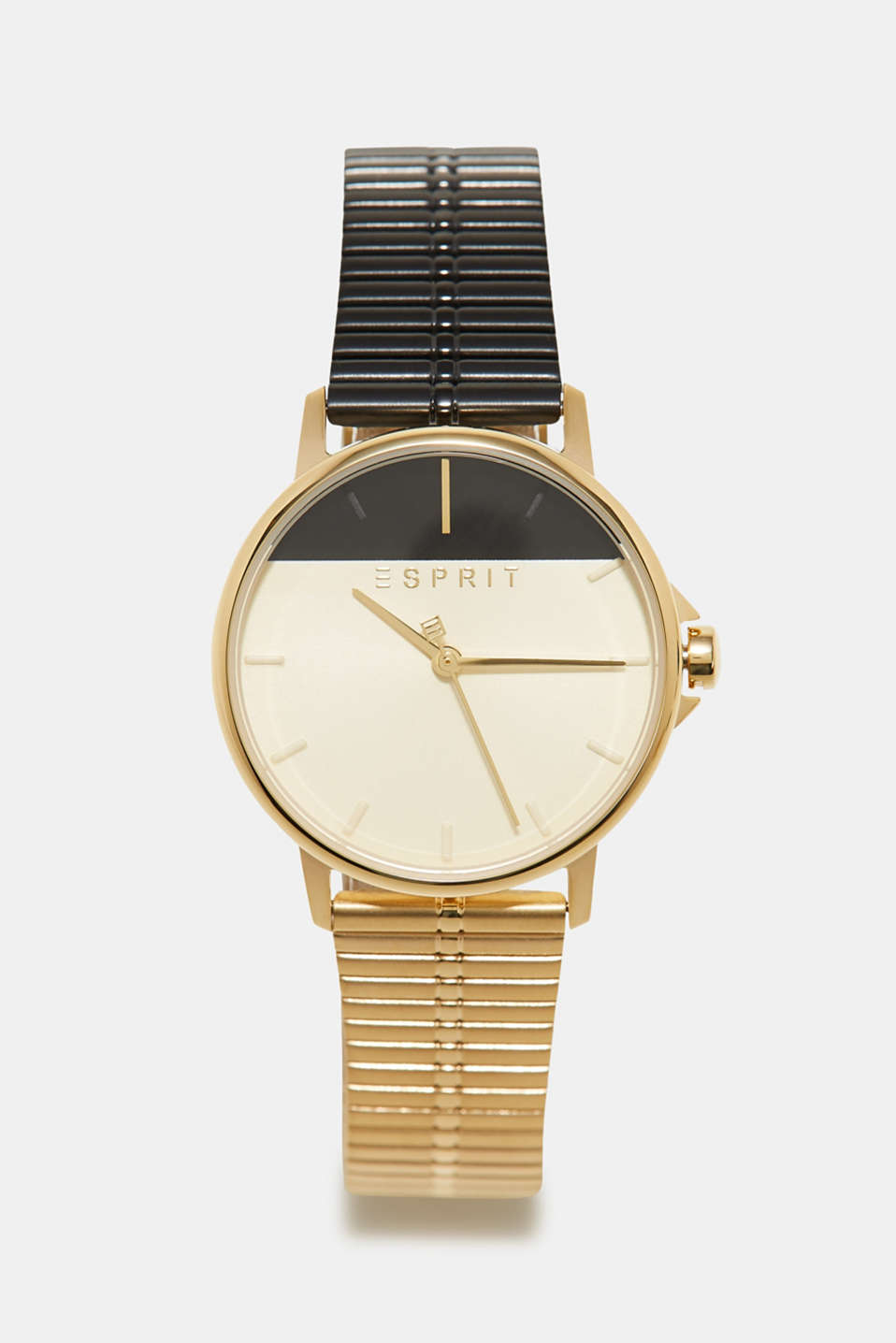 Esprit - Stainless steel watch in a two-tone look