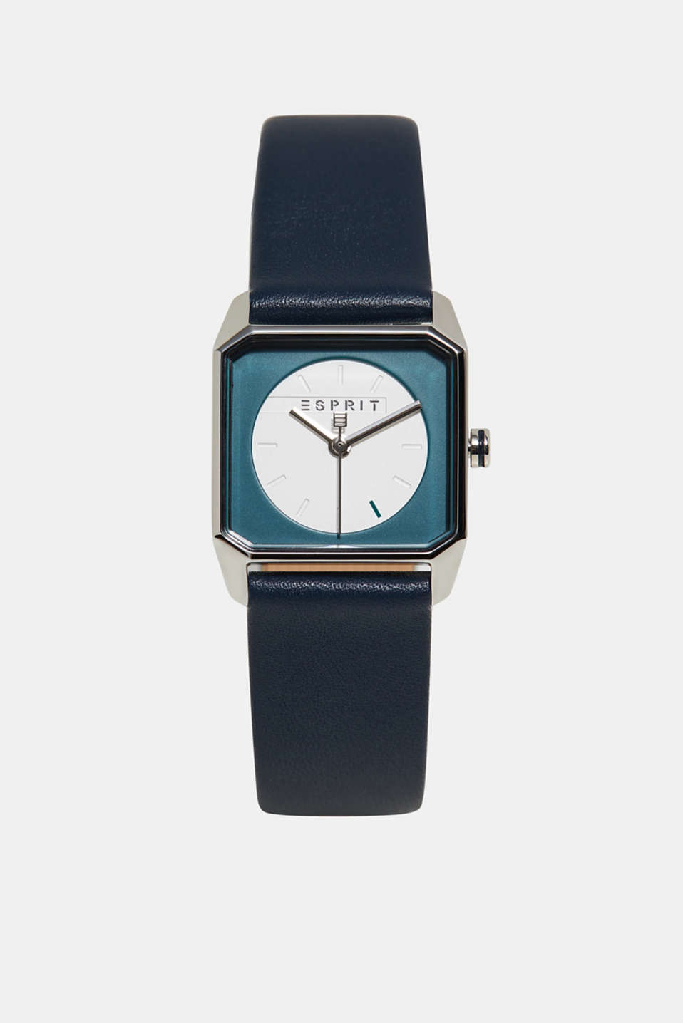 Esprit - Stainless steel watch with a square casing