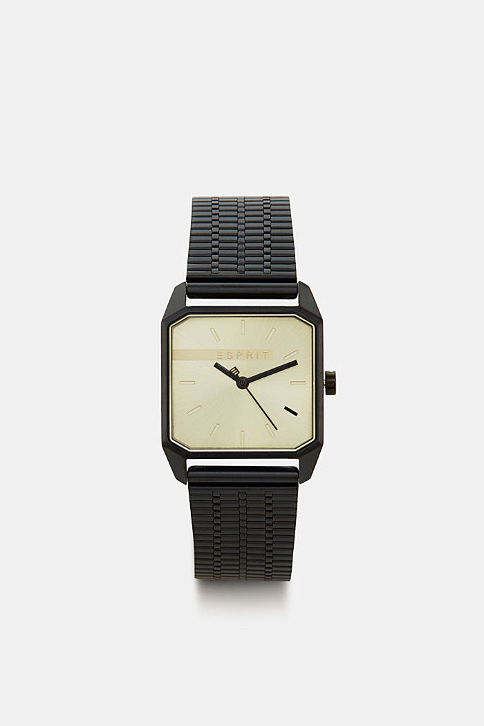Stainless-steel watch, BLACK, detail image number 0