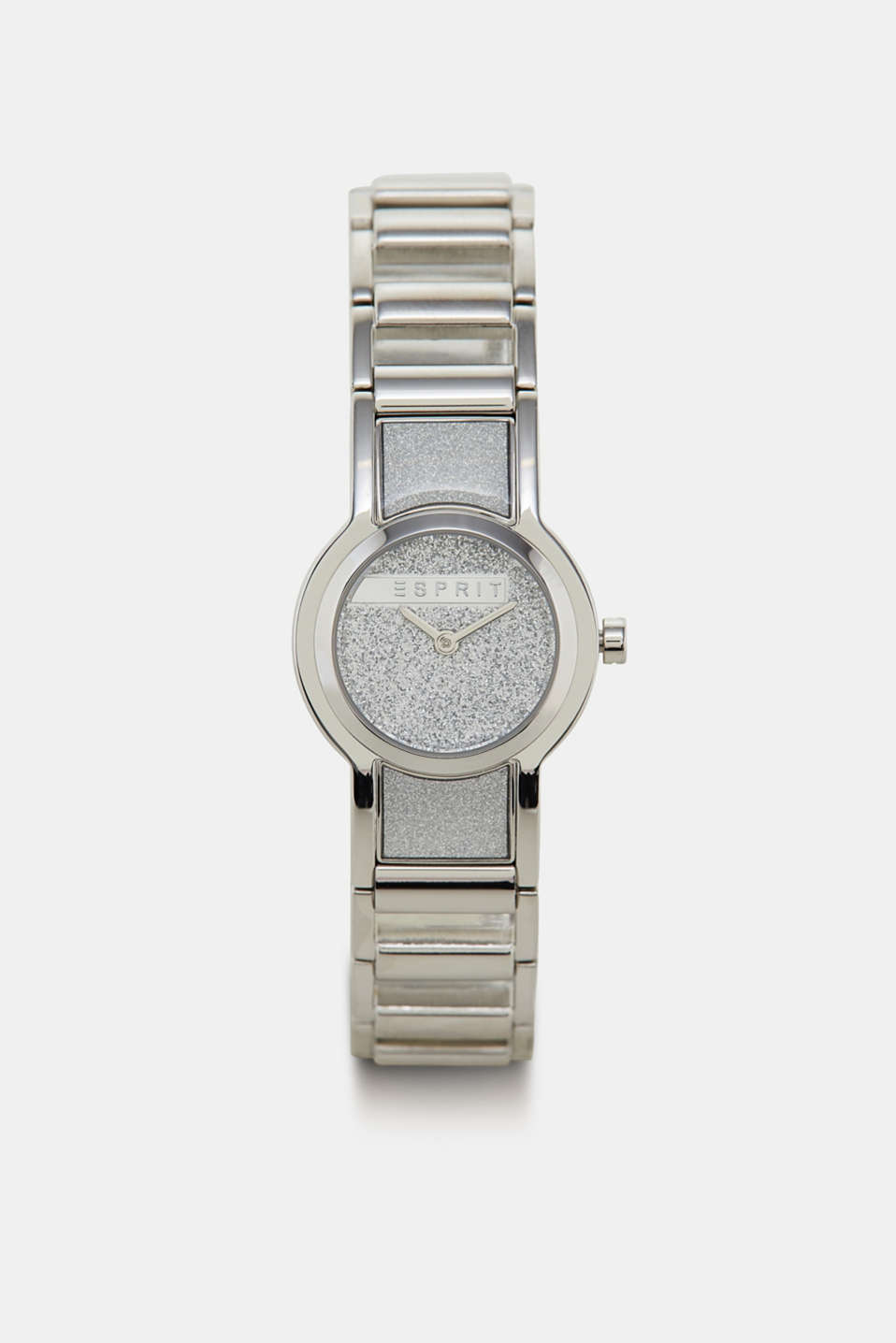 Esprit - Stainless steel watch with glitter details
