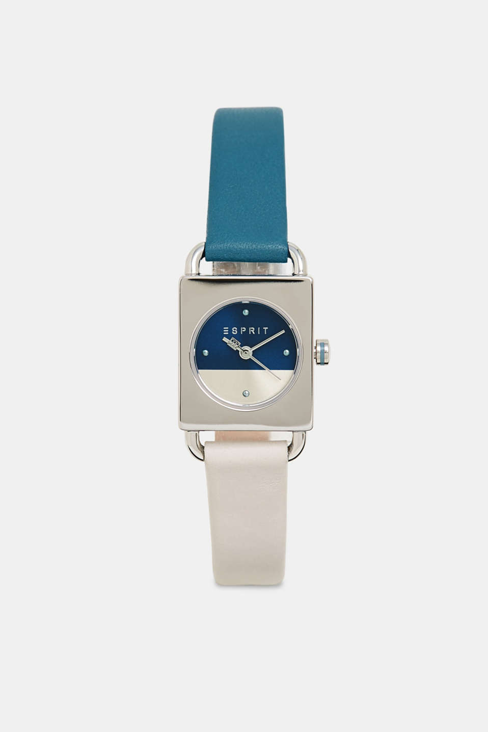 Esprit - Stainless-steel watch with a bi-colour strap