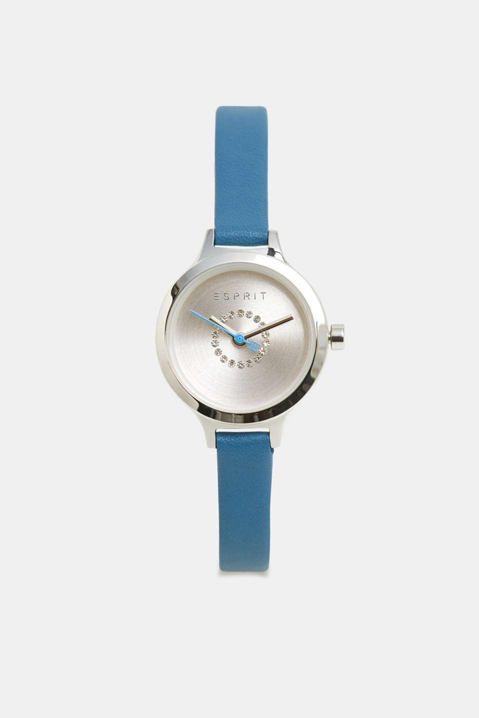 Watch and bracelet set, BLUE, detail image number 1