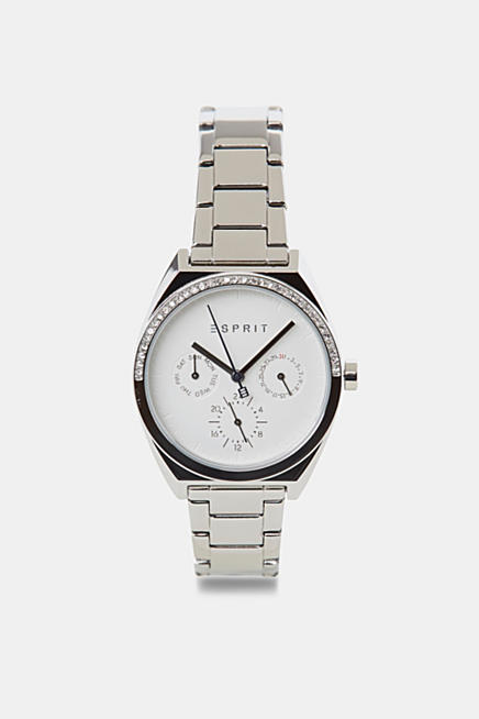 3eb3e821a Stainless steel watch with zirconia
