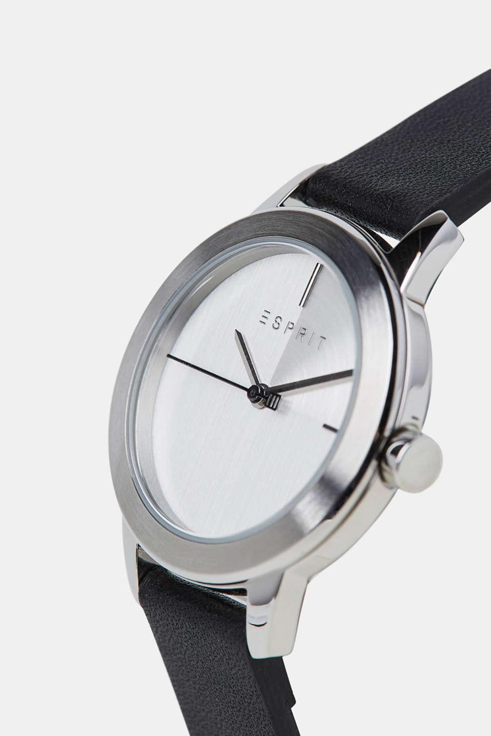 Timewear Leather, BLACK, detail image number 1