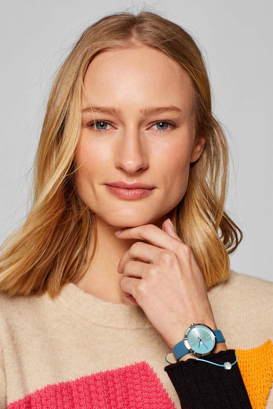 Bracelet and watch set, BLUE, detail image number 2