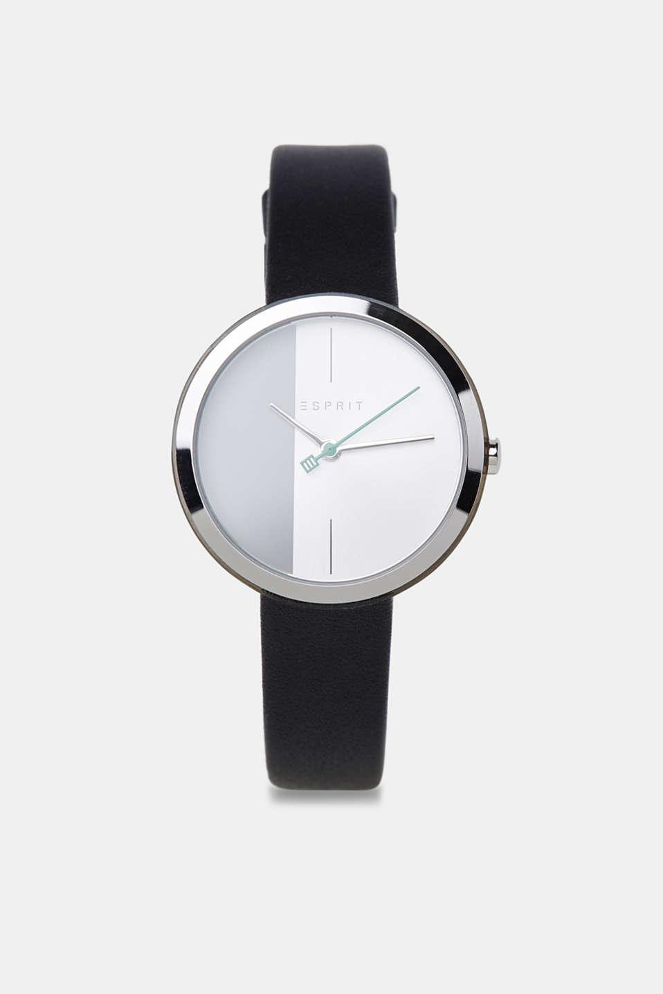 Bracelet and watch set, BLACK, detail image number 0