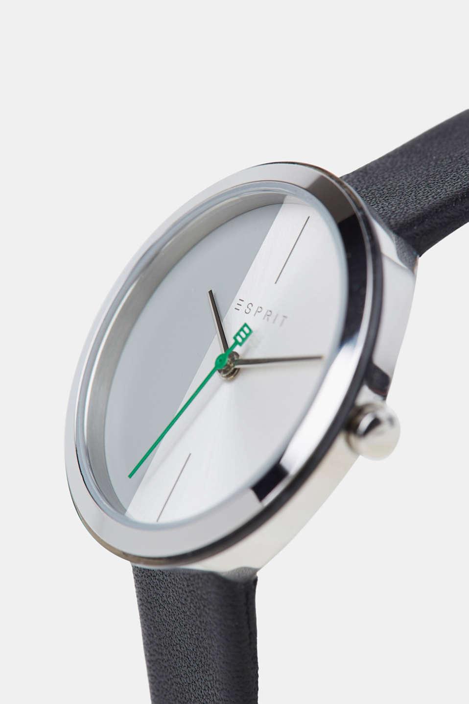Bracelet and watch set, BLACK, detail image number 1