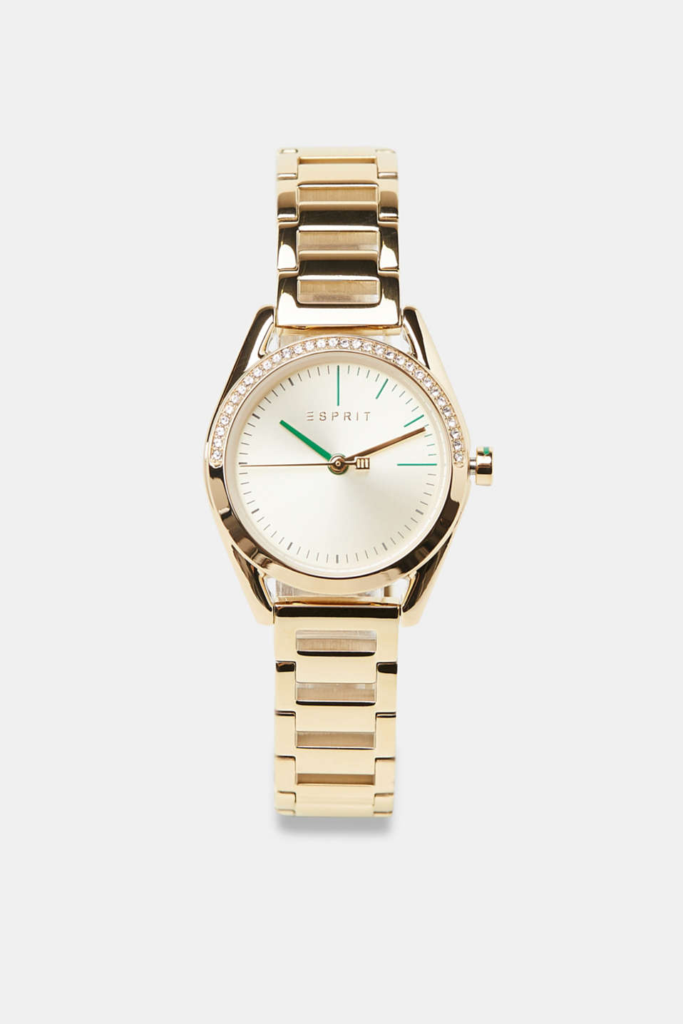 Watch and bracelet set, GOLD, detail image number 0