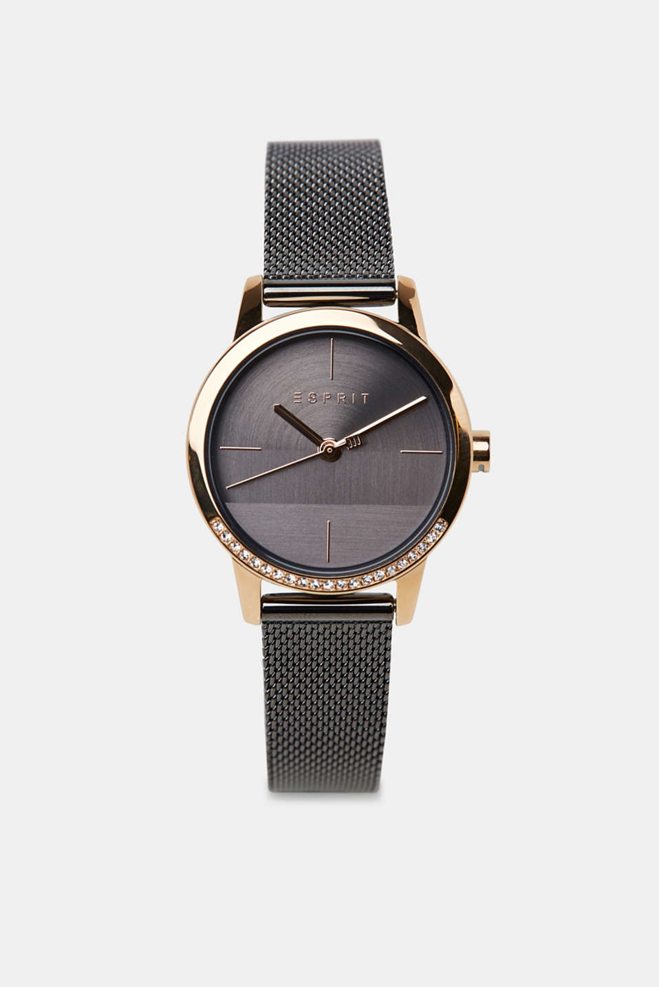 Esprit - Stainless-steel watch with a mesh strap