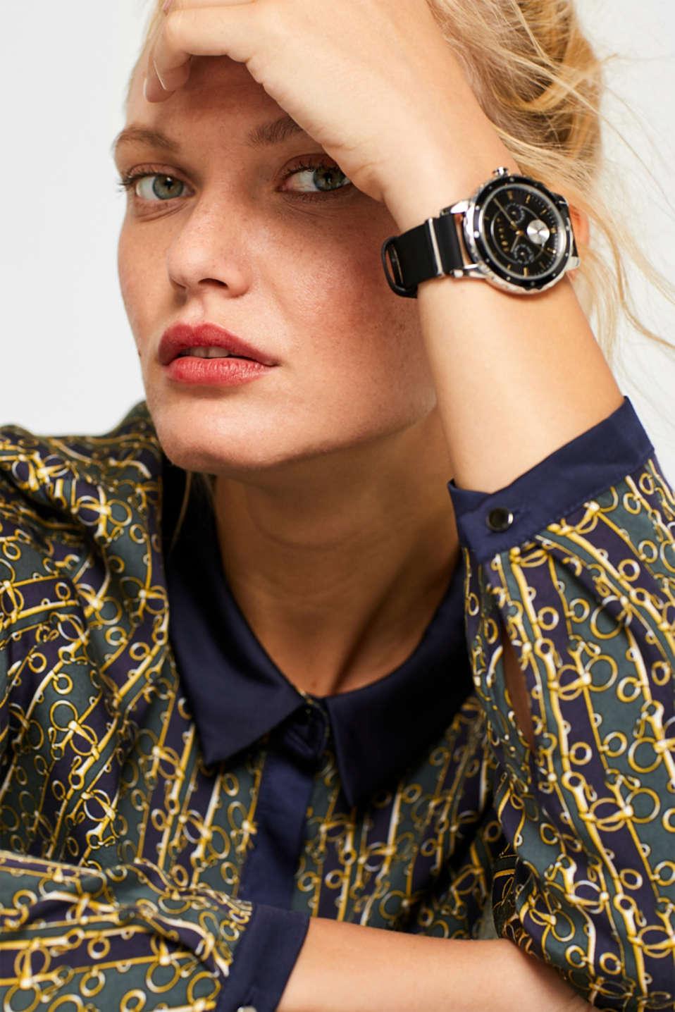 Timewear Leather, BLACK, detail image number 2