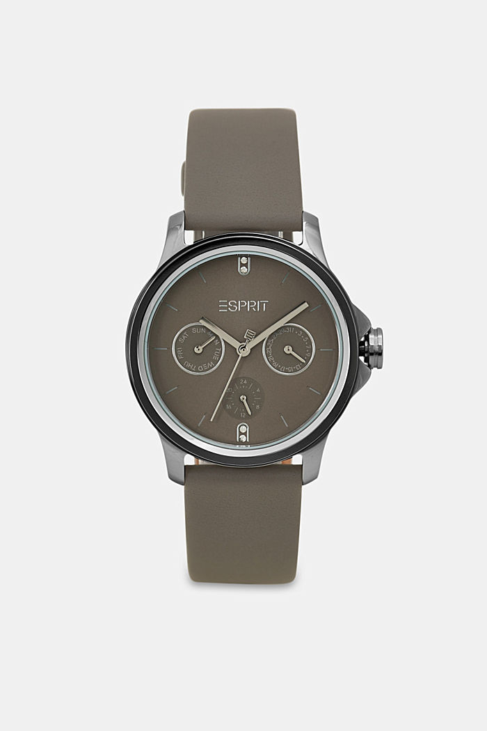 Timewear Leather, GREY, overview
