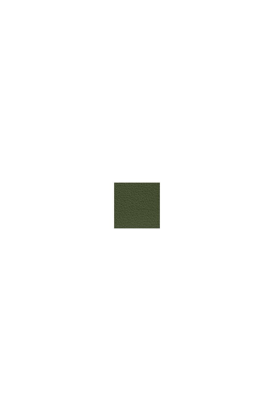 Klocka i rostfritt stål med skinnarmband, GREEN, swatch